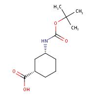(1S,3R)-3-{[(tert-butoxy)carbonyl]amino}cyclohexane-1-carboxylic acid