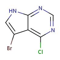 5-bromo-4-chloro-7H-pyrrolo[2,3-d]pyrimidine