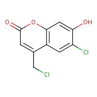 6-Chloro-4-(chloromethyl)-7-hydroxy-2H-chromen-2-one