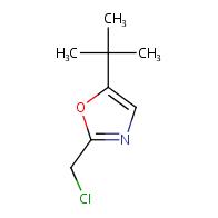5-tert-butyl-2-(chloromethyl)-1,3-oxazole