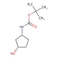 tert-butyl N-[(1R,3S)-3-hydroxycyclopentyl]carbamate