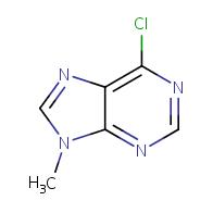6-chloro-9-methyl-9H-purine