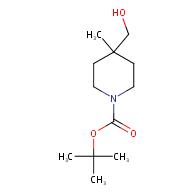 1-Piperidinecarboxylicacid, 4-(hydroxymethyl)-4-methyl-, 1,1-dimethylethyl ester