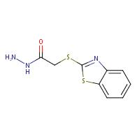 2-(1,3-benzothiazol-2-ylthio)acetohydrazide