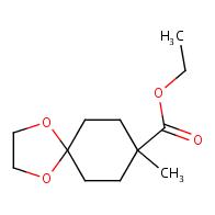 ethyl 8-methyl-1,4-dioxaspiro[4.5]decane-8-carboxylate