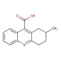 2-Methyl-1,2,3,4-tetrahydroacridine-9-carboxylic acid