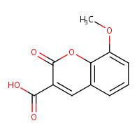8-methoxy-2-oxo-2H-chromene-3-carboxylic acid