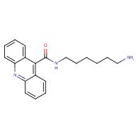 Acridine-9-carboxylic acid (6-amino-hexyl)-amide