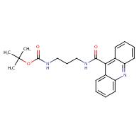 {3-[(Acridine-9-carbonyl)-amino]-propyl}-carbamic acid tert-butyl ester