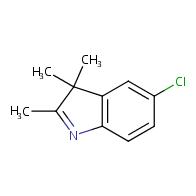 5-chloro-2,3,3-trimethyl-3H-indole