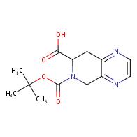 6-[(tert-butoxy)carbonyl]-5H,6H,7H,8H-pyrido[3,4-b]pyrazine-7-carboxylic acid