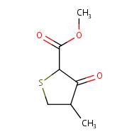 methyl 4-methyl-3-oxotetrahydrothiophene-2-carboxylate