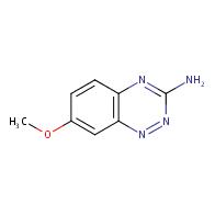 7-methoxybenzo[e][1,2,4]triazin-3-amine