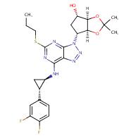 (3aR,4S,6R,6aS)-6-[7-[[(1R,2S)-2-(3,4-Difluorophenyl)cyclopropyl]amino]-5-(propylthio)-3H-1,2,3-triazolo[4,5-d]pyrimidin-3-yl]tetrahydro-2,2-dimethyl-4H-cyclopenta-1,3-dioxol-4-ol