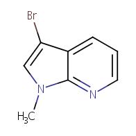3-bromo-1-methyl-1H-pyrrolo[2,3-b]pyridine