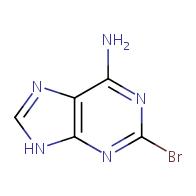 2-bromo-9H-purin-6-amine