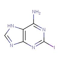 2-iodo-7H-purin-6-amine