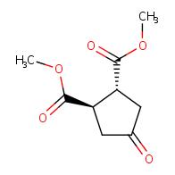 4-oxo-cyclopentane-trans-1,2-dicarboxylic acid dimethyl ester
