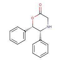 (5R,6S)-5,6-diphenylmorpholin-2-one