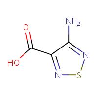 4-amino-1,2,5-thiadiazole-3-carboxylic acid