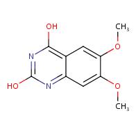 6,7-dimethoxyquinazoline-2,4-diol