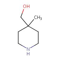 4-(Hydroxymethyl)-4-methylpiperidine