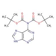 tert-butyl N-[(tert-butoxy)carbonyl]-N-(9H-purin-6-yl)carbamate