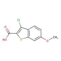 3-Chloro-6-methoxy-1-benzothiophene-2-carboxylic acid