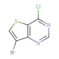 7-bromo-4-chlorothieno[3,2-d]pyrimidine