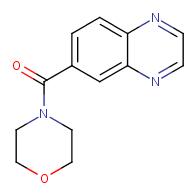 morpholino(quinoxalin-6-yl)methanone