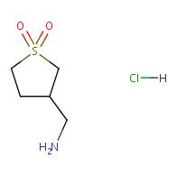 3-(Aminomethyl)tetrahydrothiophene 1,1-dioxide hydrochloride