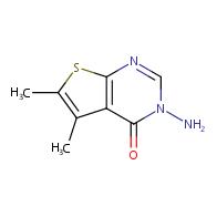 3-Amino-5,6-dimethylthieno[2,3-d]pyrimidin-4(3H)-one