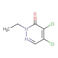 4,5-dichloro-2-ethylpyridazin-3-one
