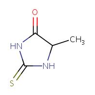 5-methyl-2-thioxoimidazolidin-4-one