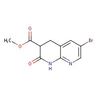 methyl 6-bromo-2-oxo-1,2,3,4-tetrahydro-1,8-naphthyridine-3-carboxylate