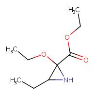 Ethyl 2-ethoxy-3-ethylaziridine-2-carboxylate