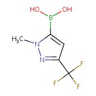 (1-Methyl-3-(trifluoromethyl)-1H-pyrazol-5-yl)boronic acid