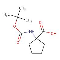 1-(boc-amino)cyclopentanecarboxylic acid