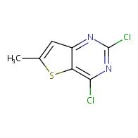 2,4-dichloro-6-methylthieno[3,2-d]pyrimidine