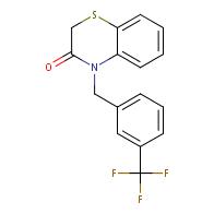 4-(3-(trifluoromethyl)benzyl)-2H-benzo[b][1,4]thiazin-3(4H)-one
