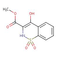 methyl 4-hydroxy-2H-benzo[e][1,2]thiazine-3-carboxylate 1,1-dioxide