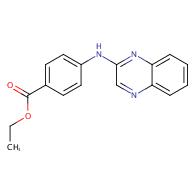 Ethyl 4-(quinoxalin-2-ylamino)benzoate