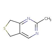 2-methyl-5,7-dihydrothieno[3,4-d]pyrimidine