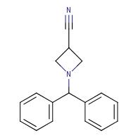 1-(diphenylmethyl)azetidine-3-carbonitrile