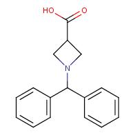 1-(diphenylmethyl)azetidine-3-carboxylic acid