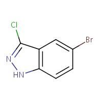 5-bromo-3-chloro-1H-indazole