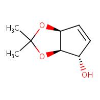 (3aR,4S,6aS)-2,2-dimethyl-2H,3aH,4H,6aH-cyclopenta[d][1,3]dioxol-4-ol