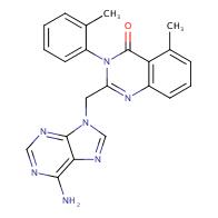 2-((6-Amino-9H-purin-9-yl)methyl)-5-methyl-3-(o-tolyl)quinazolin-4(3H)-one