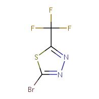 2-Bromo-5-(trifluoromethyl)-1,3,4-thiadiazol