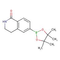 3,4-dihydro-6-(4,4,5,5-tetramethyl-1,3,2-dioxaborolan-2-yl)isoquinolin-1(2H)-one